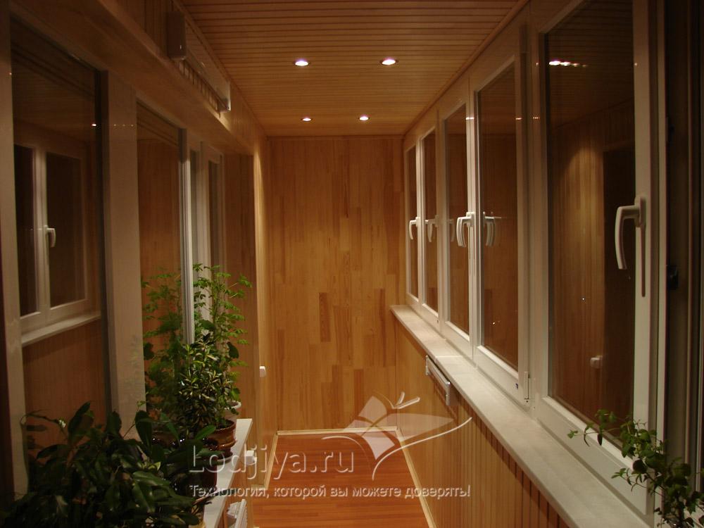 Варианты дизайна лоджии 6м. - ремонт окон дверей любой сложн.