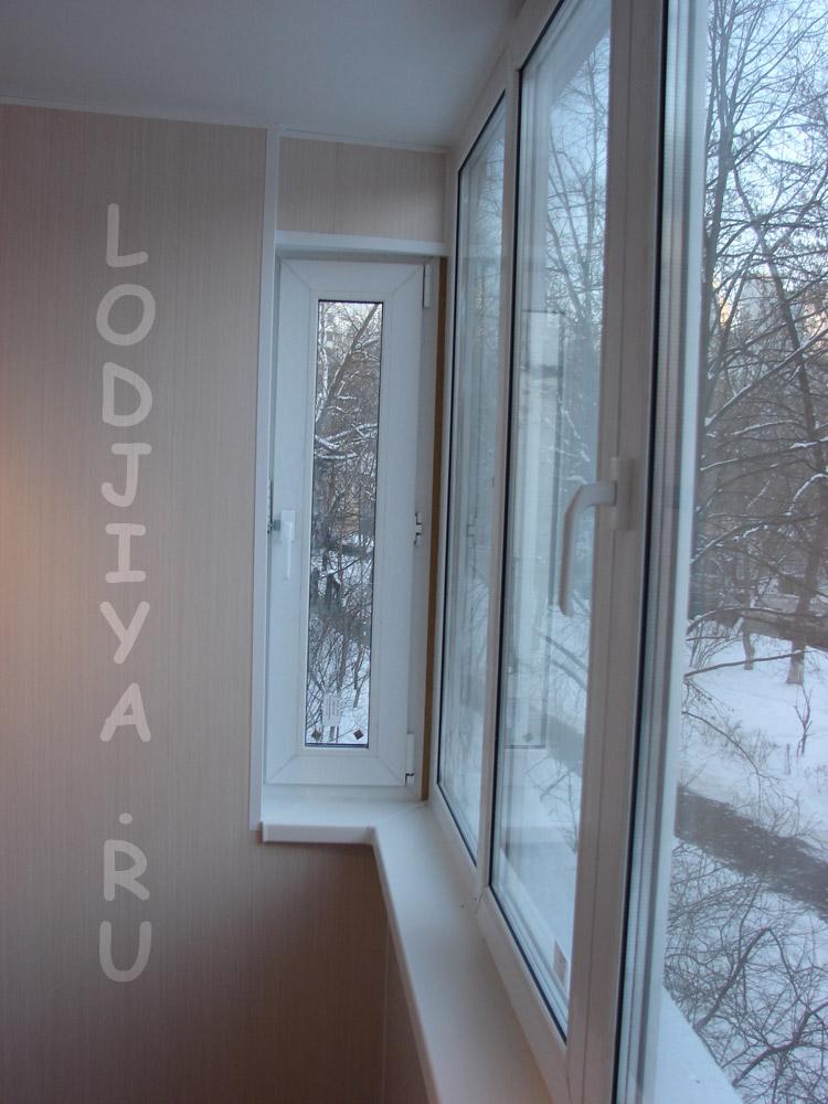 Серия 1 515 9ш остеклить балкон..