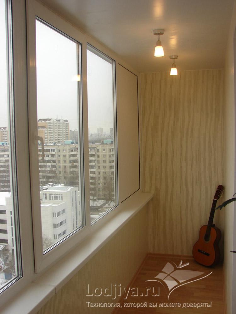 Ремонт балкона в доме серии п 46..