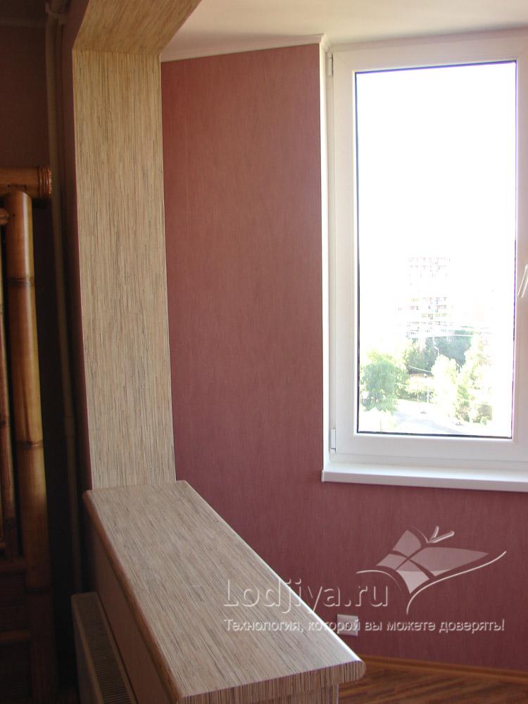 Технология утепления лоджий совмещенного с балконом. - балко.