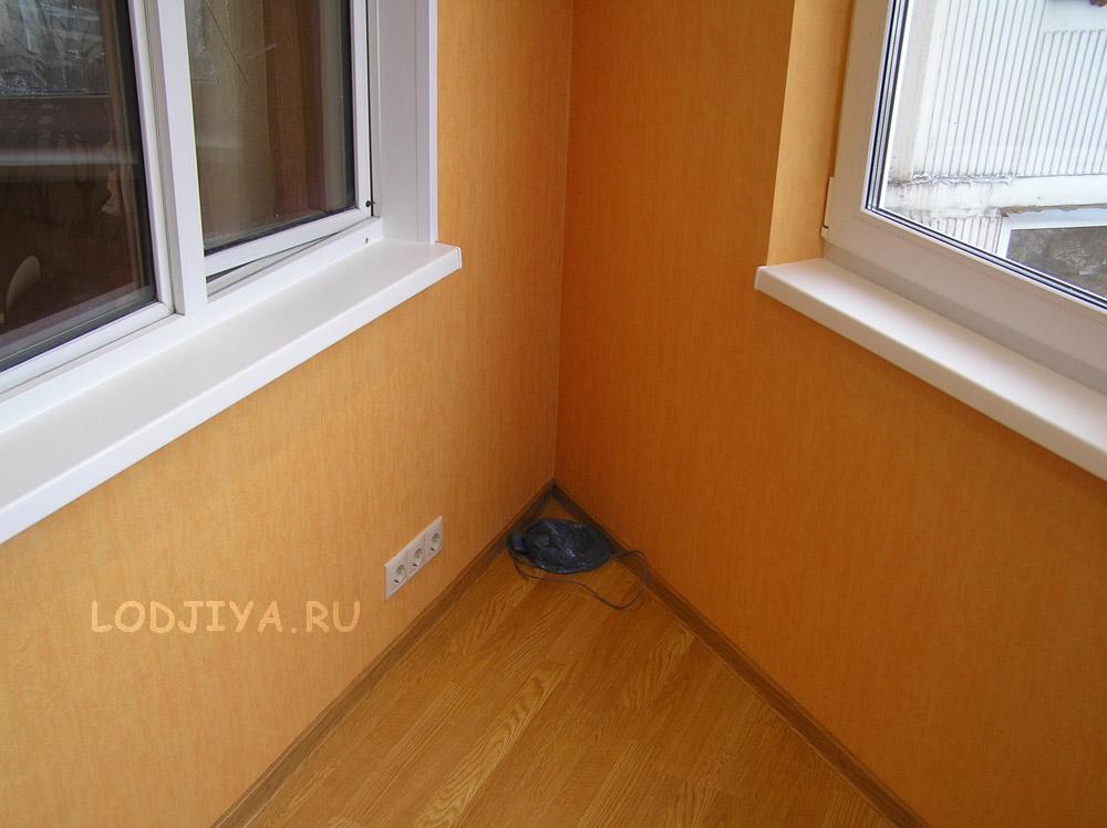 Соединение балкона с комнатой п44т утюжок..