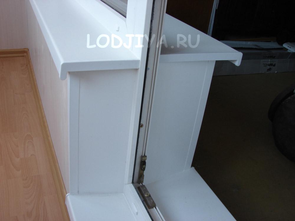 Остекления балкона 1 комнатная. - балконные блоки - каталог .