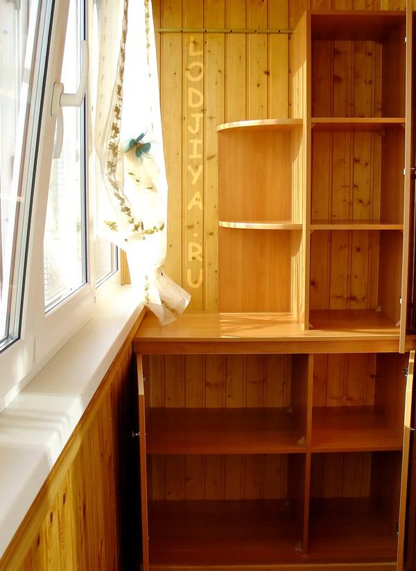 Создание проектов балконного шкафа.