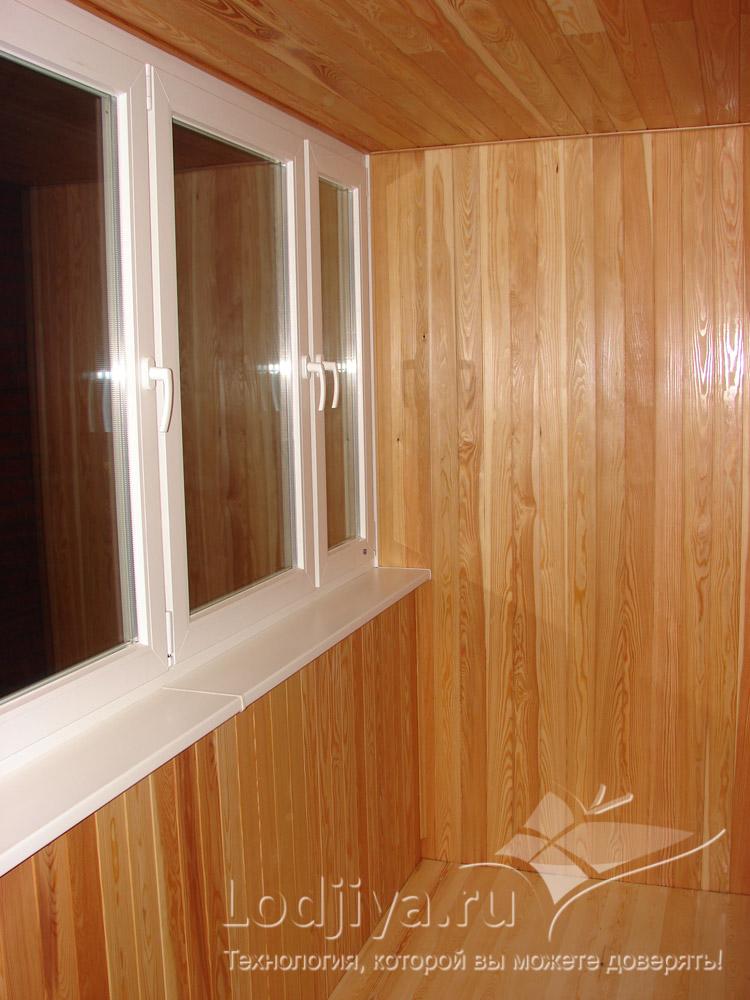 Виды евровагонка деревянная а для обшивки балкона..