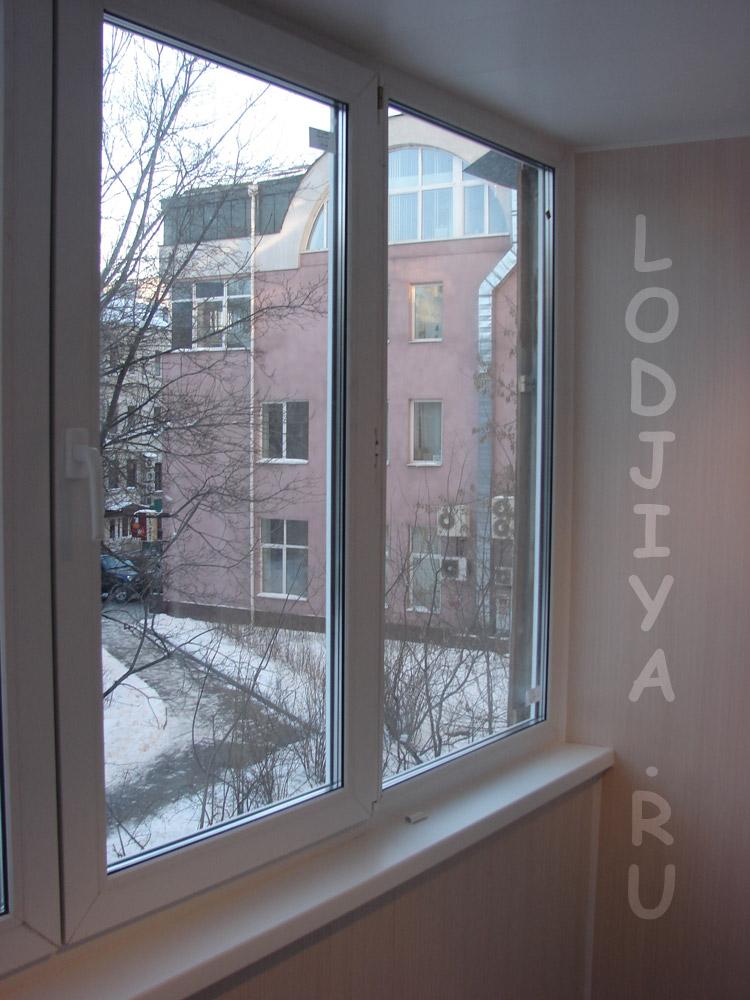 Остекление балкона в доме серии 1 515..