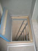 Отделка балкона с пожарной лестницей п44т..