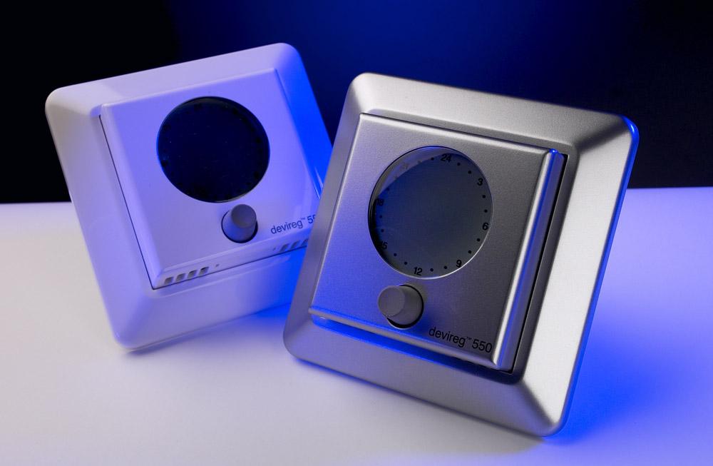 DEVIreg 550 (Timer & Thermostat, Programmable, White) - Инструкция длдя devireg 550 белый.